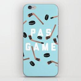 PAS GAME iPhone Skin
