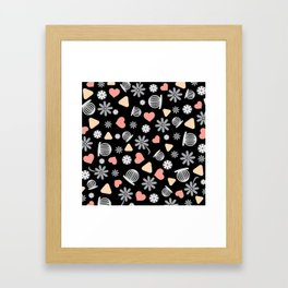 Lovely Pattern VII Framed Art Print