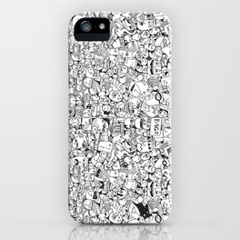 Crowd 1+2 iPhone Case