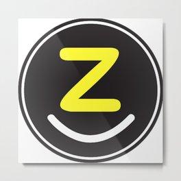 zolliophone magazine logo shopping style graphic design Metal Print