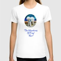 caleb troy T-shirts featuring The Adventures Of Troy I by Louisa Catharine Photography And Art