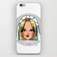 lesbian iPhone & iPod Skins featuring Britney Cartoon: Like A Lesbian by Eduardo Sanches Morelli