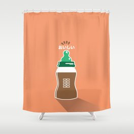 In My Fridge - Chocolate Milk Shower Curtain
