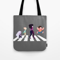 Steven Universe on Abbey Road Tote Bag