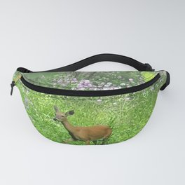 Wisconsin Whimsy - Deer in the Phlox Fanny Pack