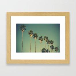 Hollywood Summer Framed Art Print
