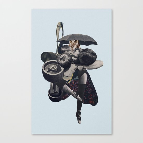 Wrap us in a blanket of nightshade Canvas Print