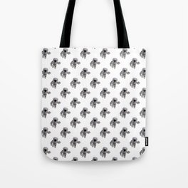 Seamless Background Astronaut Tote Bag