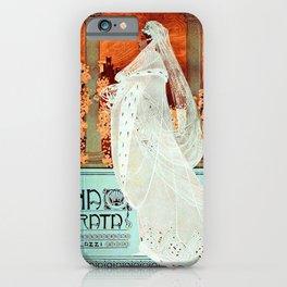 Vintage Italian Art Nouveau Woman iPhone Case