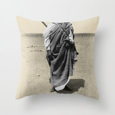 Service in Egypt Throw Pillow