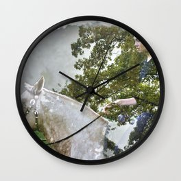 A Spark in the Trees Wall Clock