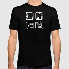 Mayan Glyphs ~ Hands T-shirt