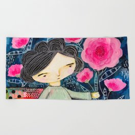 Quilted Princess Beach Towel