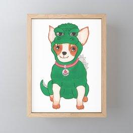 Chizilla Framed Mini Art Print