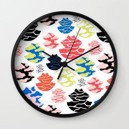 clouded Wall Clock