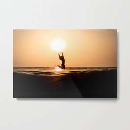 Reach for the Sun Metal Print