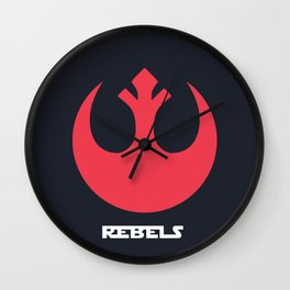 Rebel Alliance Wall Clock