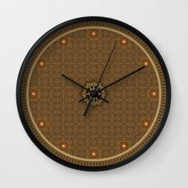 Maya pattern Wall Clock