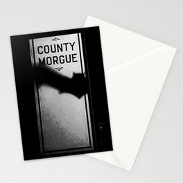 Vampires at the County Morgue Stationery Cards