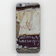off to galifornia... iPhone & iPod Skin