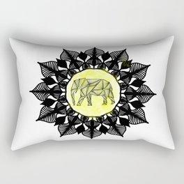 Ancient Elephant Rectangular Pillow