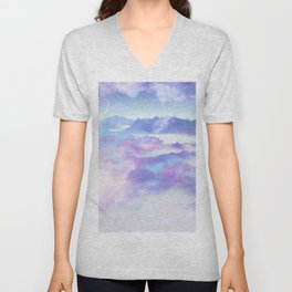 Dreaming landscape Unisex V-Neck