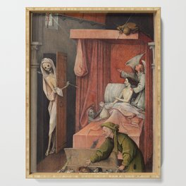 Hieronymus Bosch - Death And The Miser. Serving Tray