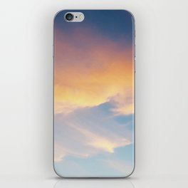 Parisian Sunset with Church iPhone Skin
