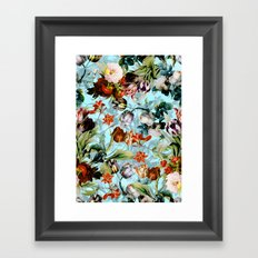 SUMMER BOTANICAL VI Framed Art Print