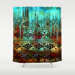 Southwest Icicles Shower Curtain