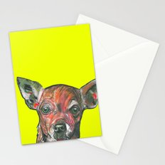 Chihuahua, printed from an original painting by Jiri Bures Stationery Cards