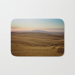 Wheat fields of the Overberg - Landscape Photography Bath Mat