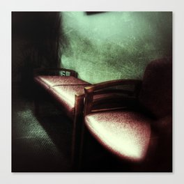 Waiting Room Series - #2 Canvas Print