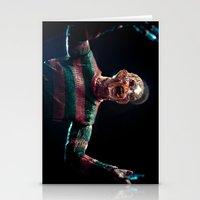 freddy krueger Stationery Cards featuring Freddy Krueger by TJAguilar Photos