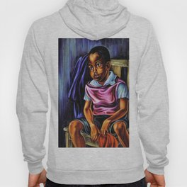 "African American Classical Masterpiece ""Negro Boy, 1938"" by Hale Woodruff Hoody"