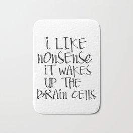 Printable Art, Dr Seuss quote print, printable quote Bath Mat