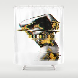 Fazed Out Shower Curtain
