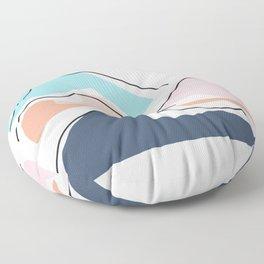 Minimalistic Landscape III Floor Pillow