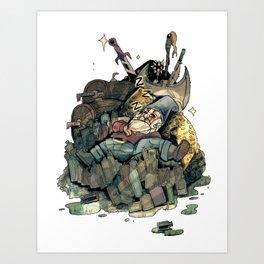 Gnome Chomsky Art Print