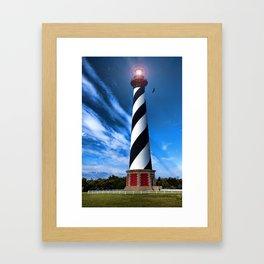 Cape Hatteras Light Framed Art Print