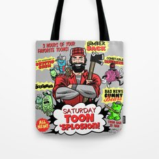 Saturday TOON 'Splosion! Tote Bag