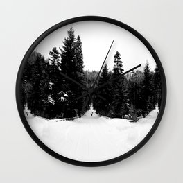 Frozen InDecision Wall Clock
