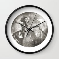 labyrinth Wall Clocks featuring Labyrinth by BOBBY WILKINS