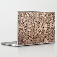 arabic Laptop & iPad Skins featuring Arabic Patterns by Laurais Arts