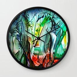 StalactiteCave Wall Clock