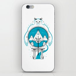 A Legend of Snow iPhone Skin
