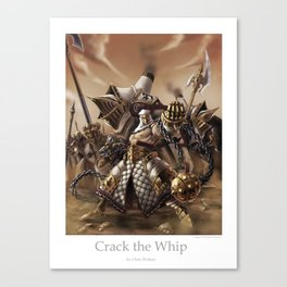 Crack the Whip Canvas Print