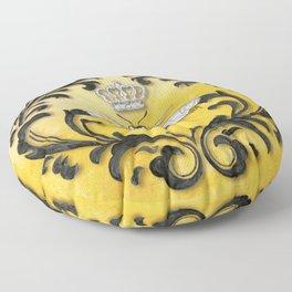 Damask Bee Floor Pillow