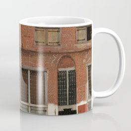"""Johannes Vermeer """"View on Houses in Delft (also known as 'The Little Street')"""" Coffee Mug"""