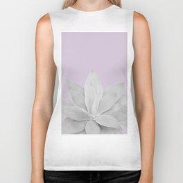 Lavender Fog Agave #1 #tropical #decor #art #society6 Biker Tank